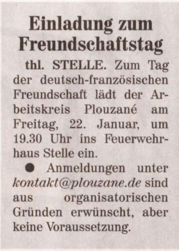 Tag der deutsch franzoesischen Freundschaft 2010 - Wochenblatt