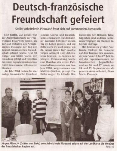 Tag der deutsch franzoesischen Freundschaft 2010 - Winsener Anzeiger