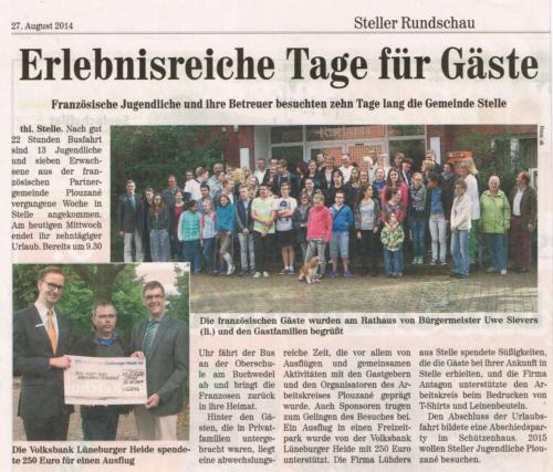 2014-08-27 Steller Rundschau