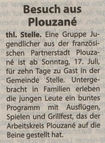 2016-07-13 Steller Rundschau