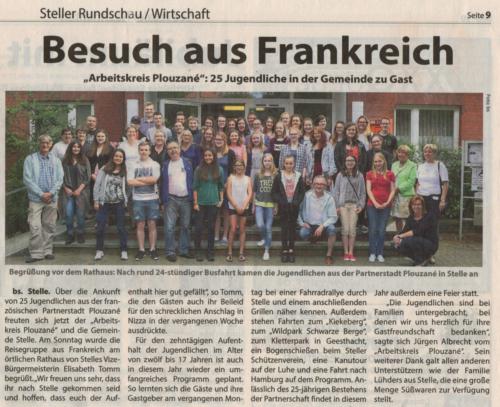 2016-07-19 Steller Rundschau